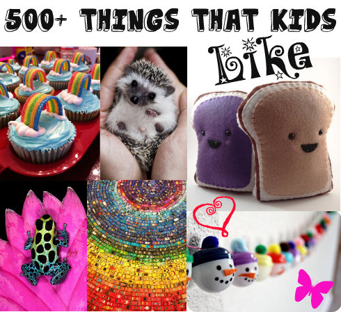 500 Things That Kids Like Writing For Kids While Raising Them