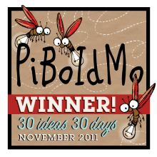 2011 Official PiBoldMo participant & winner