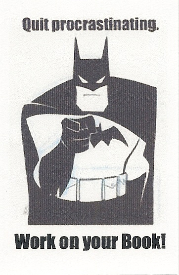 batman procrastination
