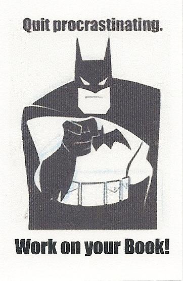 batman procrastination