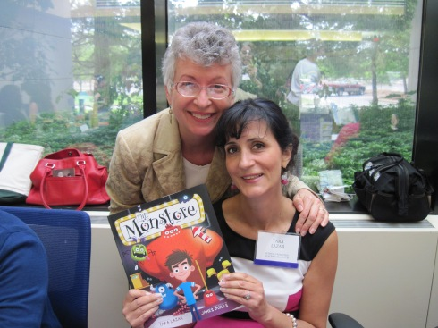 Author Darlene Jacobsen and I. And me? Or is it I?