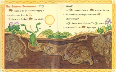 Burrow Borrowers pages 1& 2