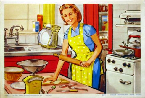 womanbaking