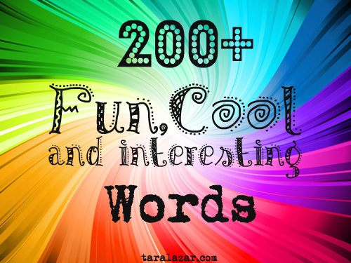 cool words to use in an essay