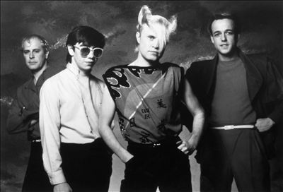 For those of you who didn't grow up on 80's music, this is A Flock of Seagulls.