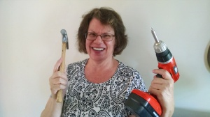 Toni with tools