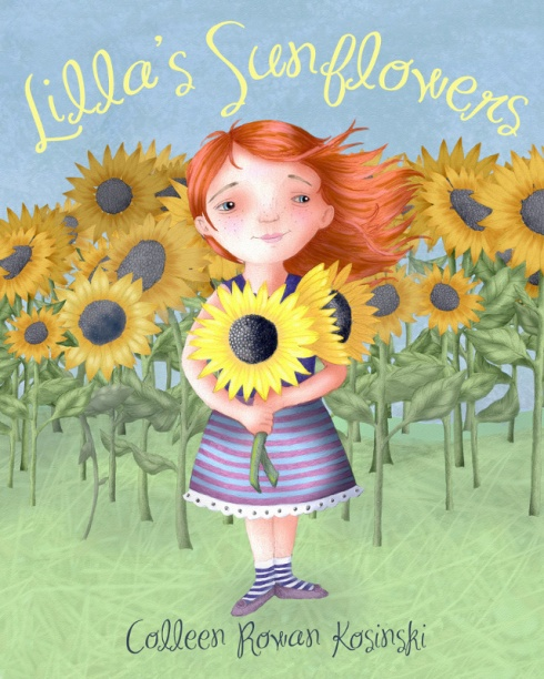 Lilla's Sunflowers_cover_colleen_rowan_kosinski