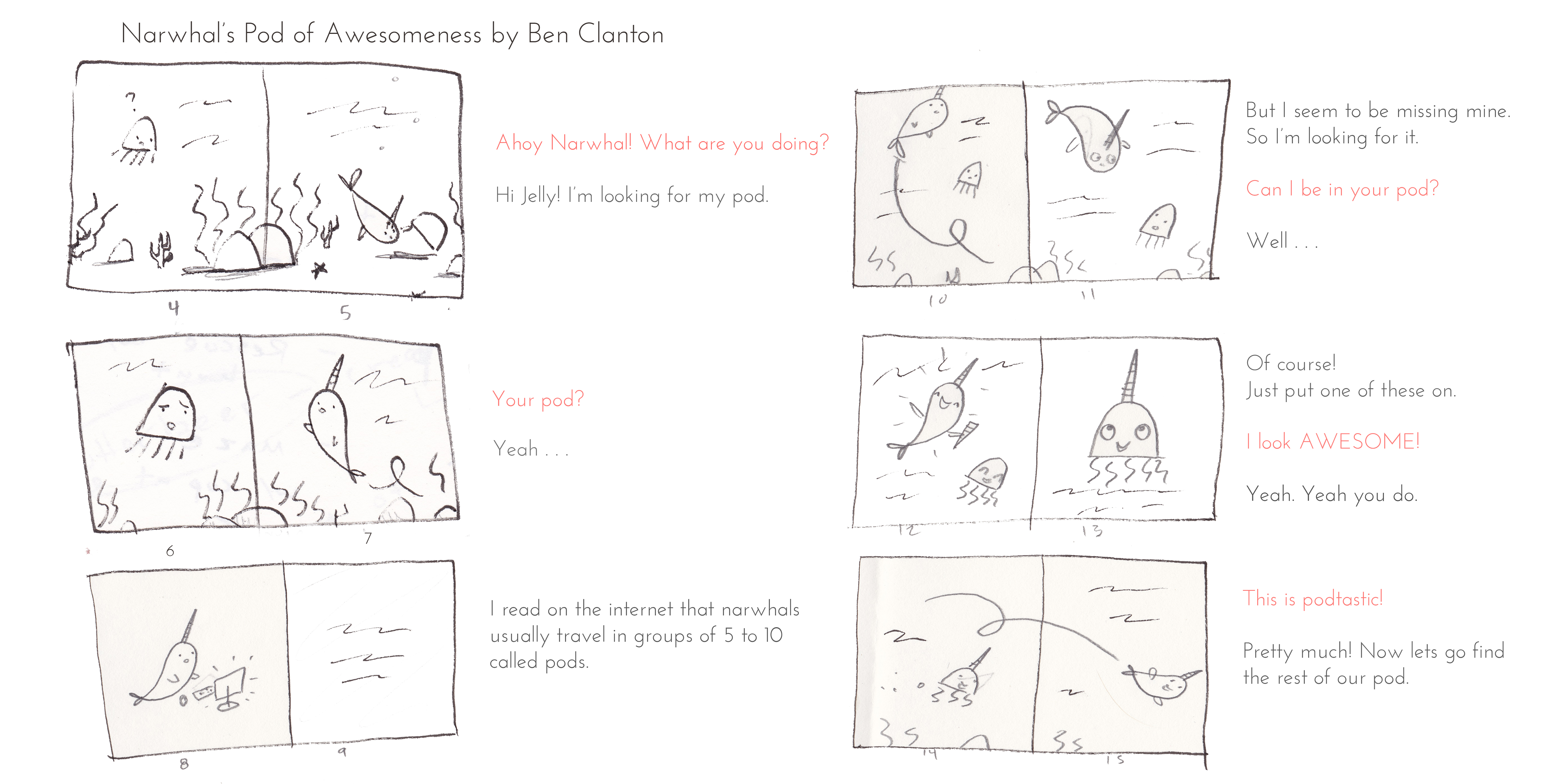 ben clanton u0027s narwhal and jelly how a picture book becomes